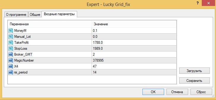 советник lucky grid